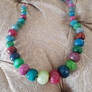 Jewelry - Beautiful multi gemstone necklace
